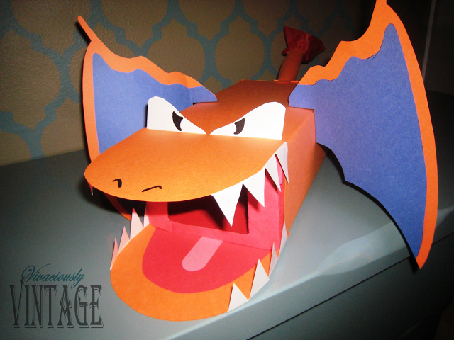 Charizard Box & 14 Cute Character Themed Valentineu0027s Day Boxes! - Crafty Morning Aboutintivar.Com