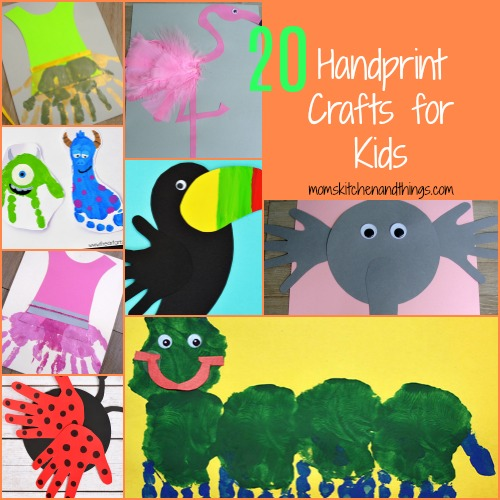20 Handprint Crafts for Kids - Crafty Morning