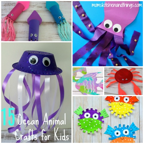 15 Ocean Animal Crafts for Kids - Crafty Morning