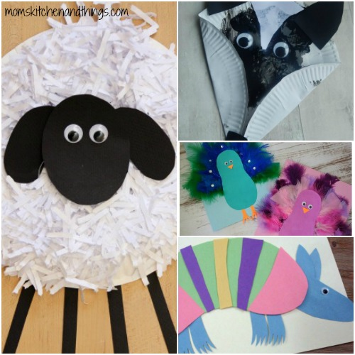 Paper Plate Sheep Craft & 40 Fun Animal Crafts for Kids - Crafty Morning